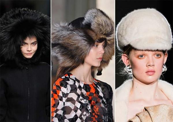 Модные шапки сезона осень-зима